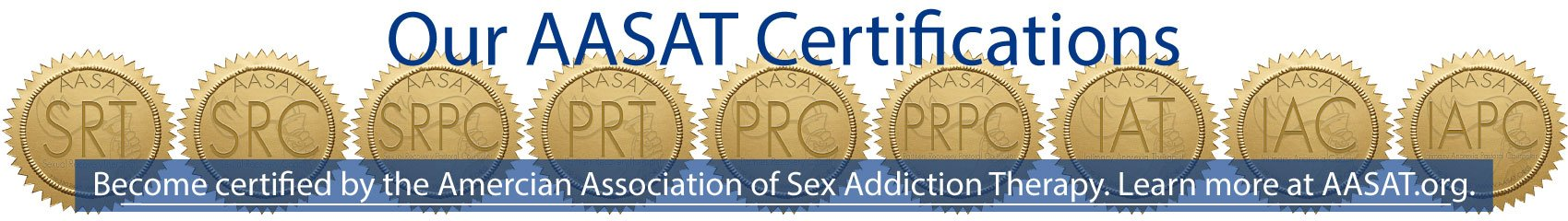 American Association for Sex Addiction Therapy Certification Programs