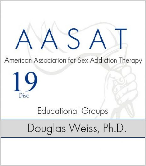 AASAT Sex Addiction Training Disc 19 Educational Groups